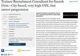 Recruitment Consultant Job Description Photos