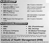 Mba Healthcare Management Jobs