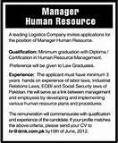 Job Of Human Resource Manager Photos