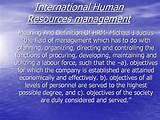 International Human Resources Management Pictures